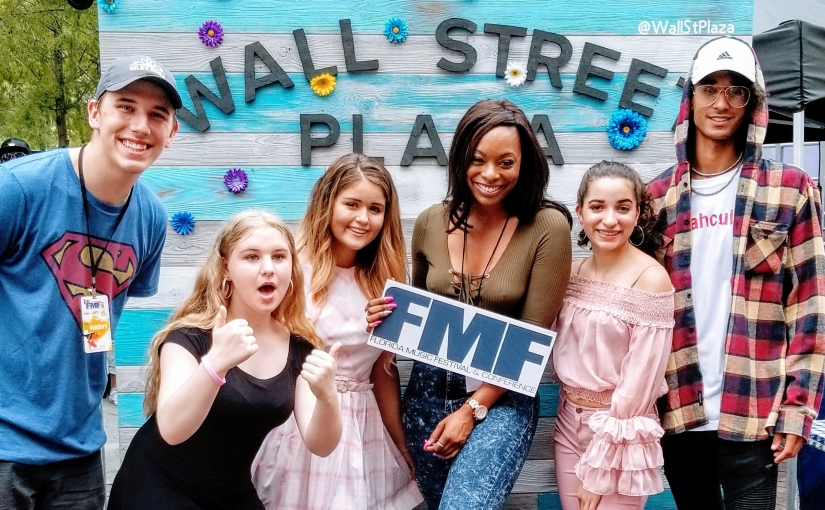 Live from the Florida Music Festival 2018 stage with The Rose Carpet Media Group